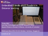 Embedded E-books and E-Readers in D...