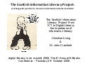 The Scottish Information Literacy Project