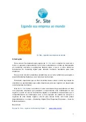 E book sr. site marketing digital  ...