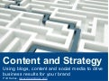 Content and Strategy
