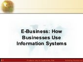 Ebusiness & Information Systems