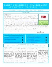 UNICEF ECD newsletter (disability)