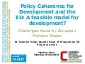 Ecdpm presentation-policy-coherence-development-eu-model-2015
