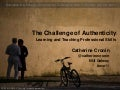 The Challenge of Authenticity: Learning and Teaching Professional Skills