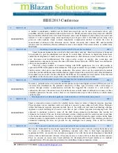 IEEE 2013 - 2014 Embedded and Andro...