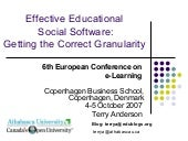 Ecel2007 Social Learning