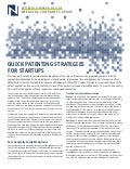 Quick Patenting Strategies for Startups