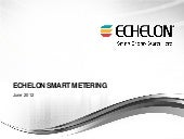 Echelon Smart Metering - Grid Analy...