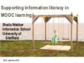 Supporting information literacy in MOOCs