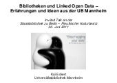 Bibliotheken und Linked Open Data -...