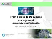 From Eclipse to Document Management...