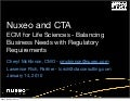 ECM For Life Sciences - Nuxeo And CTA