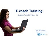 Ecoachtraining japan sept2011