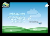 EcoCatalysts Product Demonstration