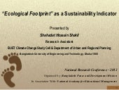 Ecological Footprint as a Sustainab...