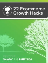 22 Ecommerce growth hacks