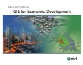 GIS for Economic Development