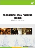 Economical Iron Content Tester by ACMAS Technologies Pvt Ltd.