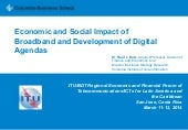 Economic and social impact of broad...