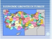 Economic Growth In Turkey