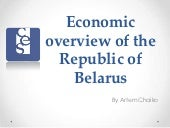 Economic overview of the republic o...