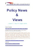 Policy News & Views August 2009