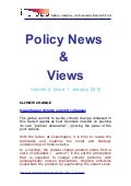 Economic Policy News  &  Views January 2010