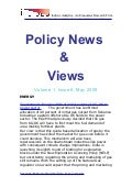 Economic Policy News And Views May 2009