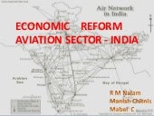 Economic reforms aviation industry