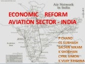 Economic reforms post 1991 aviation