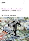 The Economics of IT Risk and Reputation