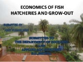 Economics of fish hatcheries and gr...