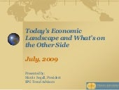 Today's Economic Landscape and What...