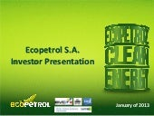 Ecopetrol SA video