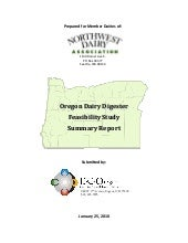 Ec Oregon Dairy Biogas Summary Report