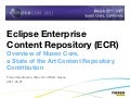 Eclipse Enterprise Content Repository (ECR)