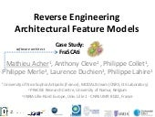 Reverse Engineering Architectural F...