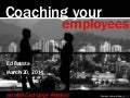 Coaching Your Employees, March 2014