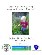 Teachers Guide to Creating Organic ...