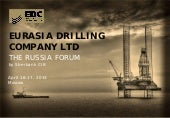 Eurasia Drilling Co. Ltd. video