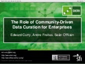 The Role of Community-Driven Data C...