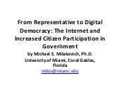 From Representative to Digital Demo...