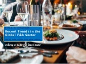 Recent Trends in the Global Food & Beverage Sector