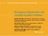 Emergency Department/Hospital Inpat...