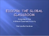 EdIC706 The Global Classroom