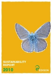 Sustainability report of Edison 2010
