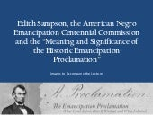 Edith Sampson, the American Negro E...