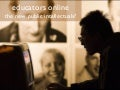 Educators Online - the new public intellectuals?