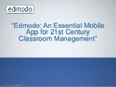 Edmodo   an essential app for 21st ...