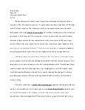 Classroom observation essay